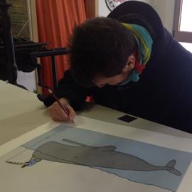 Whale & Fisherman… Federico Monzani